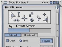 Sorbet Blue II