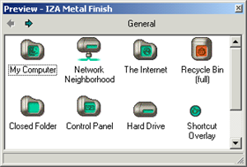IZA Metal Finish