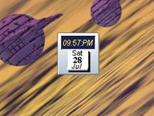 Placid B Clock n Calendar
