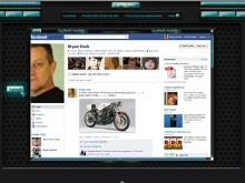 Parisienne Facebook Browser