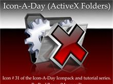 Icon-A-Day #31 (ActiveX Folder)
