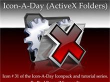 Icon-A-Day #31 (ActiveX Folder)