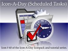 Icon-A-Day #60 (Scheduled Tasks)