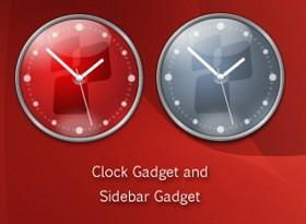 Ventura Clock Sidebar Gadets