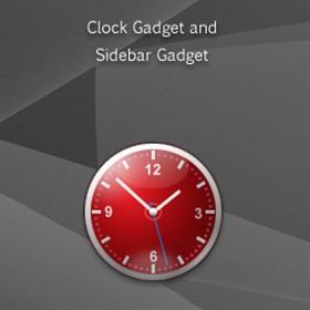 Cadiz Sidebar Clock