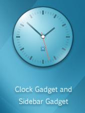Meridian Clock Gadget