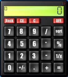 Scripted Calculator