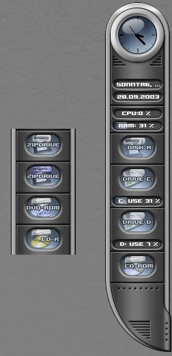 Universe Metal System Info