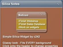 Silica Notes