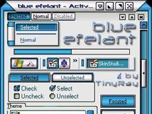 blue efelant