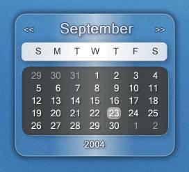 Aero Calendar