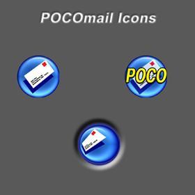 POCOmail Icons