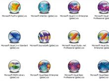 MS Dev Apps XP Icons (Globe)