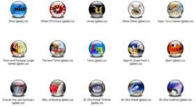 Games 7 Icons (Globe)