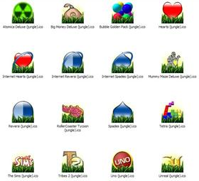 Jungle icons (Addon 04)