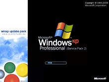 Windows XP SP2 + Update Pack 2.7