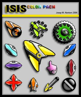 Isis Color Pack