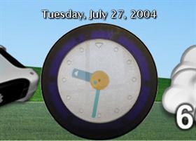 Italian Clock