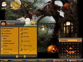 Halloween Desktop.