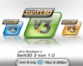 Swift3D v3 Icon 1.0