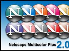 Netscape Multicolor Plus Icons 2.0