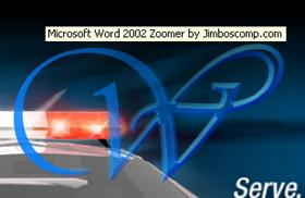 Word 2002 Zoomer