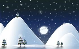 Midnight Mountains Christmas