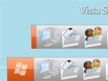 Vista Silver Backgrounds OD