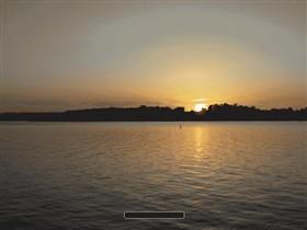 Sunset at Chiemsee 2
