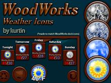 WoodWorks Weather Icons
