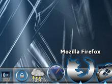 Firefox Matrix Blue