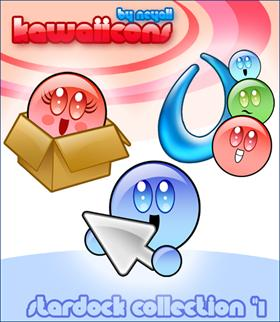 Kawaiicons: Stardock Package 1