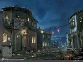 Pirate Town by Night