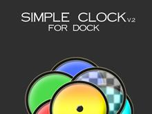 Simple Clock For Dock