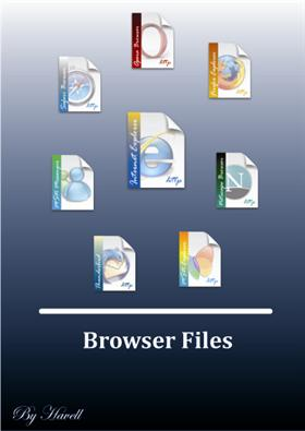 Explorer and browser files