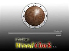 Windows Wood Clock
