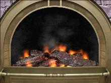 3D Cozy Fireplace Screen Saver