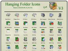 Hanging Folder Icons