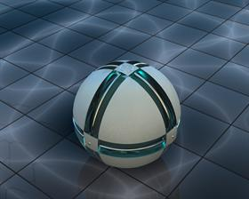 White ball HDRI