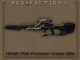 RedFaction WEP Quill Rilfe