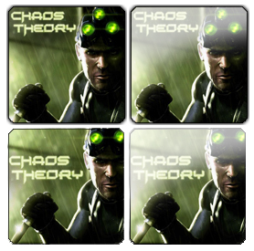 Splinter Cell: Chaos Theory Icon Pack