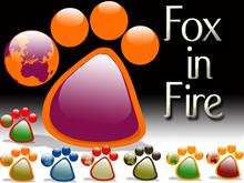 Fox in Fire