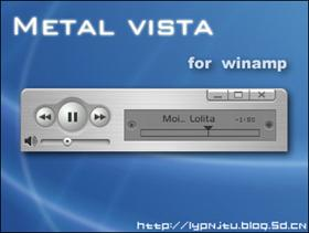 Metal Vista for winamp