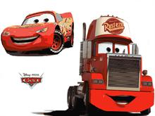 Lightning McQueen and Rust-e-ze