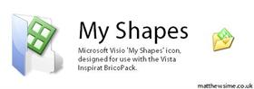 Microsoft Visio My Shapes Icon