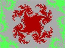 Red Vortex Fractal