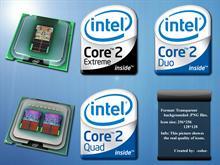 Intel Core2 logos