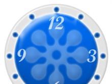 Ornaments Clock