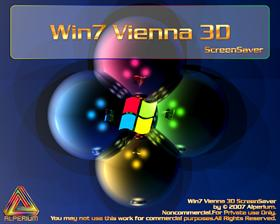 Win7 Vienna 3D ScreenSaver