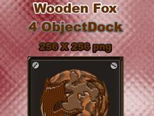 Wooden Firefox Plaque